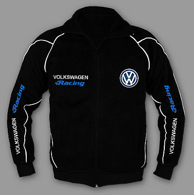 VOLKSWAGEN VW Racing Jacket Sweatshirt EMBROIDERED MADE in EUROPE gti cc r S-6XL