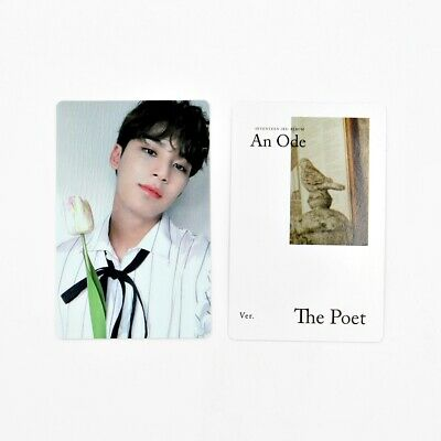 [SEVENTEEN] An Ode 독 : Fear Official Photocard / The Poet Ver. B-2. Mingyu