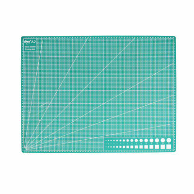 A2 Cutting Mat for Scrapbooking Quilting Sewing Green