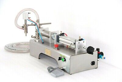 Automatic 50-500 ml Pneumatic Liquid Filling Machine 304 Stainless Steel Racking