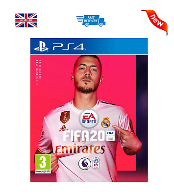 Fifa 20 (Ps4)  Game- Brand New Sealed - Fast Free Uk Post - Shipping Now