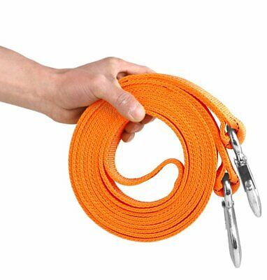 6M 8T Heavy Duty Tow Rope Towing Pull Strap Road Car Van Recovery W/Two Shackles
