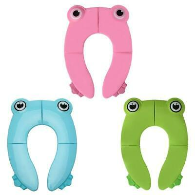Potty Training Toilet Seat Cover Non Slip Easy to Clean Pads for Kids Foldable