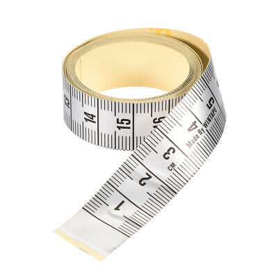 Adhesive Backed Tape Measure 150cm Metric Measuring Tool for Tailor Sewing