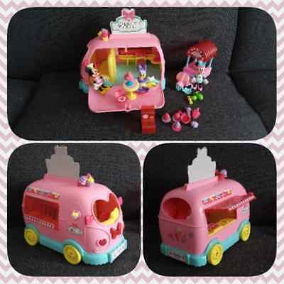 Jouet Jeux Disney Minnie Daisy Scooter camion magasin alimentaire restaurant TBE