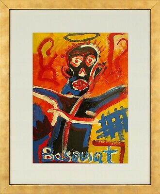 Jean Michel Basquiat - old oil private collection !!!