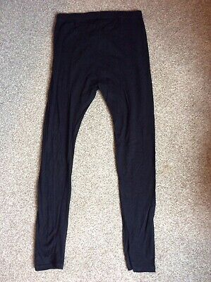 Blooming Marvellous Mothercare Black Matenity Leggings Size 8