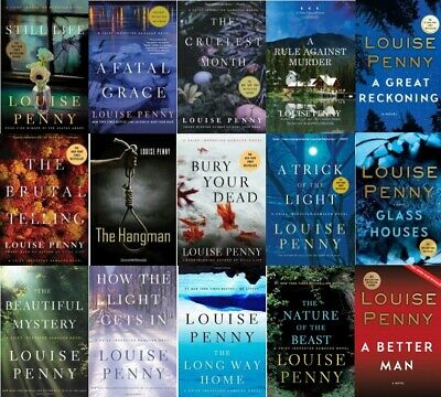 Chief Inspector Armand Gamache full Series(1-15) by Louise Penny - 16 all books