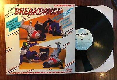 Various-Hip Hop & Rap Breakdance vinyl LP album record UK NE1276 K-TEL 1984