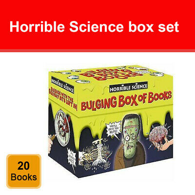 Horrible Science Collection 20 Bulging Books Box Set Children Books Set NEW Pack