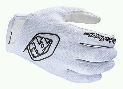 "Troy Lee Designs ""Air"" Mtb Gloves Xxl White 🌟New🌟"