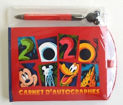 Disneyland Paris 2020 Autograph Book and Pen    N:2638