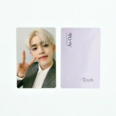 [SEVENTEEN] An Ode 독:Fear Official Photocard / Truth Ver. A-1. S.Coups
