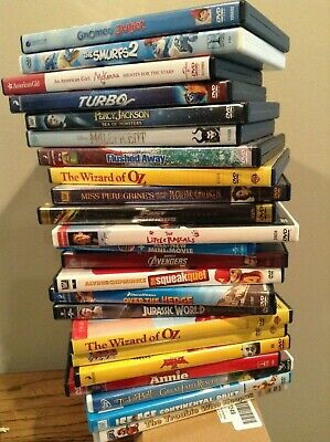 Children's Movies Kids DVD's BOGO Buy One Get One Free Many to Choose From