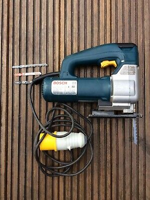Bosch GST2000 110v Professional Jigsaw & Carry Case in Good Working Order.