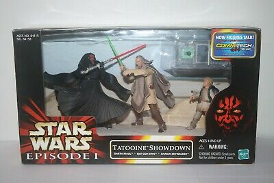 Hasbro Star Wars 1999 Episode 1 Tatooine Showdown Cinema Scenes MISB New Sealed