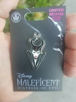 New Disney Parks Pin Maleficent - Mistress of Evil Bust pin Limited Release