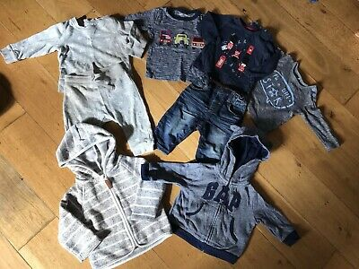 Baby Boys Clothes Bundle 3-6 Months Next Gap H&m Jeans Tops Hoody