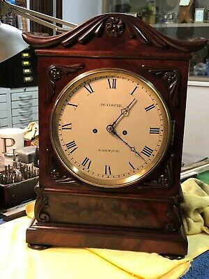 1830-1840 Twin Fusee Bracket Clock