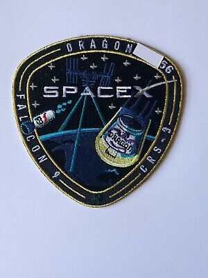 SpaceX Employee Numbered Patch:  CRS-3 with employee serial number NASA