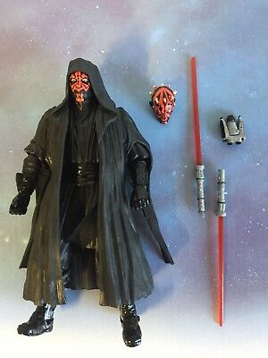 "Star Wars Black Series 6"" Action Figure: #02 Darth Maul 2013 (loose) Authentic"
