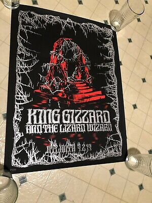 King Gizzard And The Lizard Wizard NEAR MINT RARE ATL POSTER 24/100