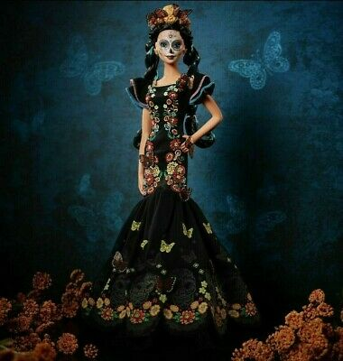 Barbie  Dia De Los Muertos - Day of The Dead - Doll 2019 - Ships Inmediately