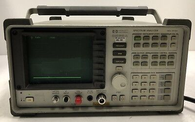 HP 8562A SPECTRUM ANALYZER 1 KHz - 22 GHz HEWLETT PACKARD LABORATORY