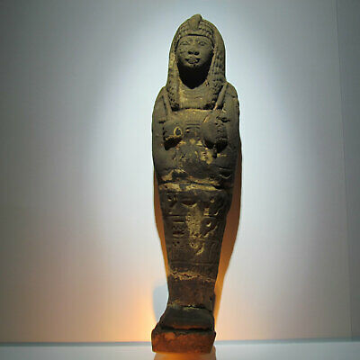 Genuine 13th Dynasty Egyptian Shabti (Ushabti) Figurine circa 1700 bc
