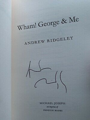 SIGNED WHAM! GEORGE and ME BY ANDREW RIDGELEY NEW FIRST EDITION FIRST PRINT H/B