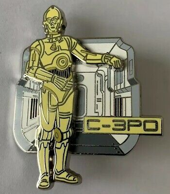 NEW Disney Parks Star Wars Weekend 2015 Mystery Droid Pin 4-LOM CHASER LE 400