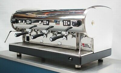 Astoria Lisa 3Grp Commercial Auto Coffee Espresso Machine, Grinder and SS Drawer