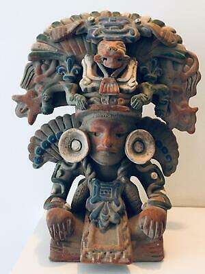 Mayan Art Megathread MUSEUM EXHIBITED Zapotec Figural Urn Monte Alban Mexico Ant