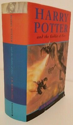 Harry Potter and the Goblet of Fire First edition Hardback With errors
