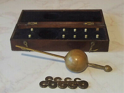 Antique Sikes Standard Hydrometer #5194 by Bate Poultry London c1840-1850