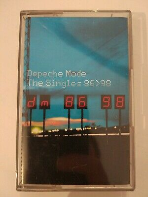 Depeche Mode - The Singles 86-98 Cassette Tape VERY RARE Russian Edition