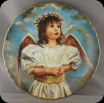 Sandra Kuck Angel Of Hope Precious Angels Collector Plate