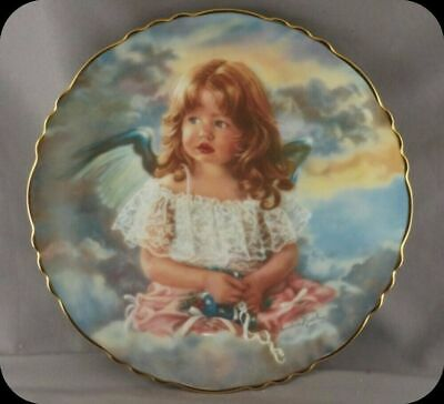 "Sandra Kuck ""Angel Of Sharing"" Precious Angels Collector Plate"