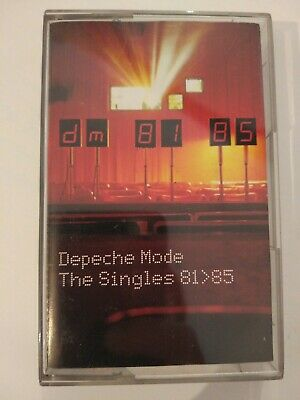 Depeche Mode - The Singles 81-85 Cassette Tape VERY RARE Russian Edition