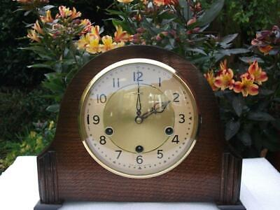 Amazing Smiths 8 Day Westminster Chiming Mantel Clock. 1955. Fully Overhauled.