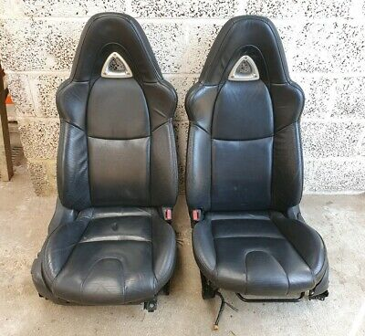 Mazda Rx8 Seats Full Leather Black Front Seats