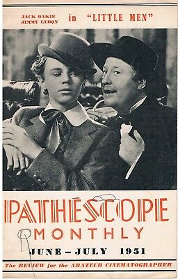 PATHESCOPE MONTHLY: 9.5mm Cine Movie Magazine 1951: LITTLE MEN released on 9.5mm