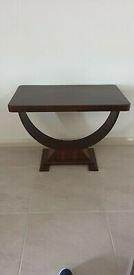 Art Deco U Table