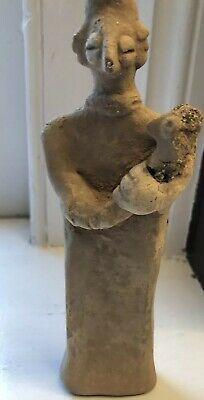Syro-Hittite Terracotta Mother Goddess with Baby 2000-1000 BC COA