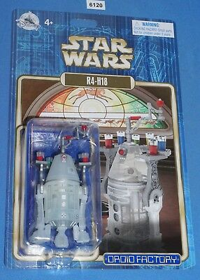 Disney Parks Star Wars 2018 R4-H18 Christmas Holiday Factory Astromech Droid MOC
