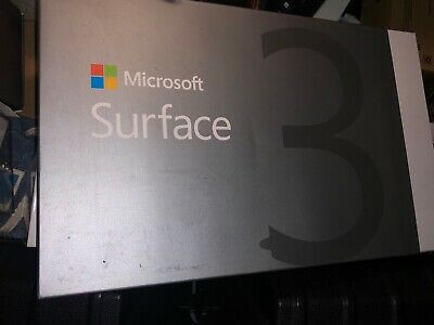 NEW Microsoft Surface 3 64GB/GO 2GB/GO RAM , Wi-Fi, 10.8in MODEL# 1645- Silver