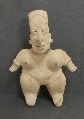 Pre-Columbian Pottery Colima Female Figure