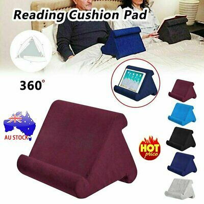 Tablet Pillow Stand For iPad Phone Book Reader Holder Rest Lap Reading Cushion@@