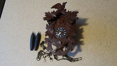 Made in Germany Cuckoo Clock for Parts and Repair