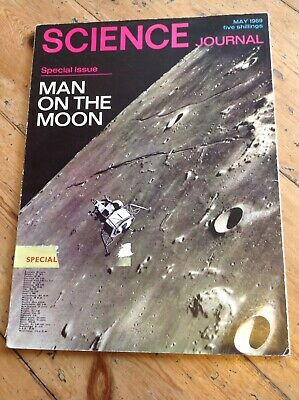 Science Journal Special Issue Man On The Moon, May 1969